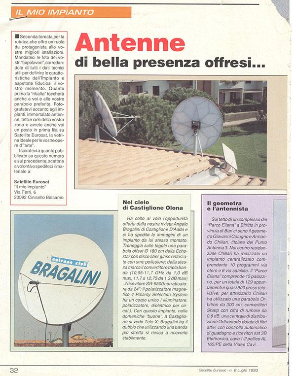 parabola giornale